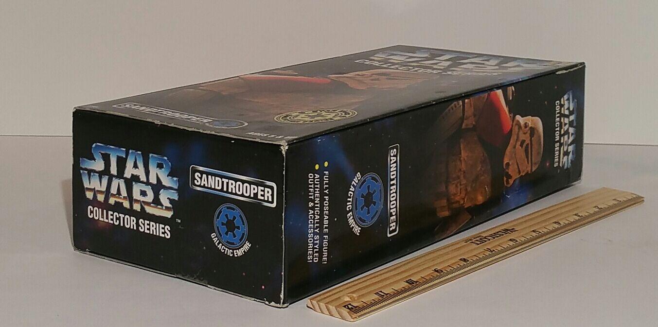 Star Wars Sandtrooper orange Shoulder Collector Series 12 in in in 1996 MIB 877273