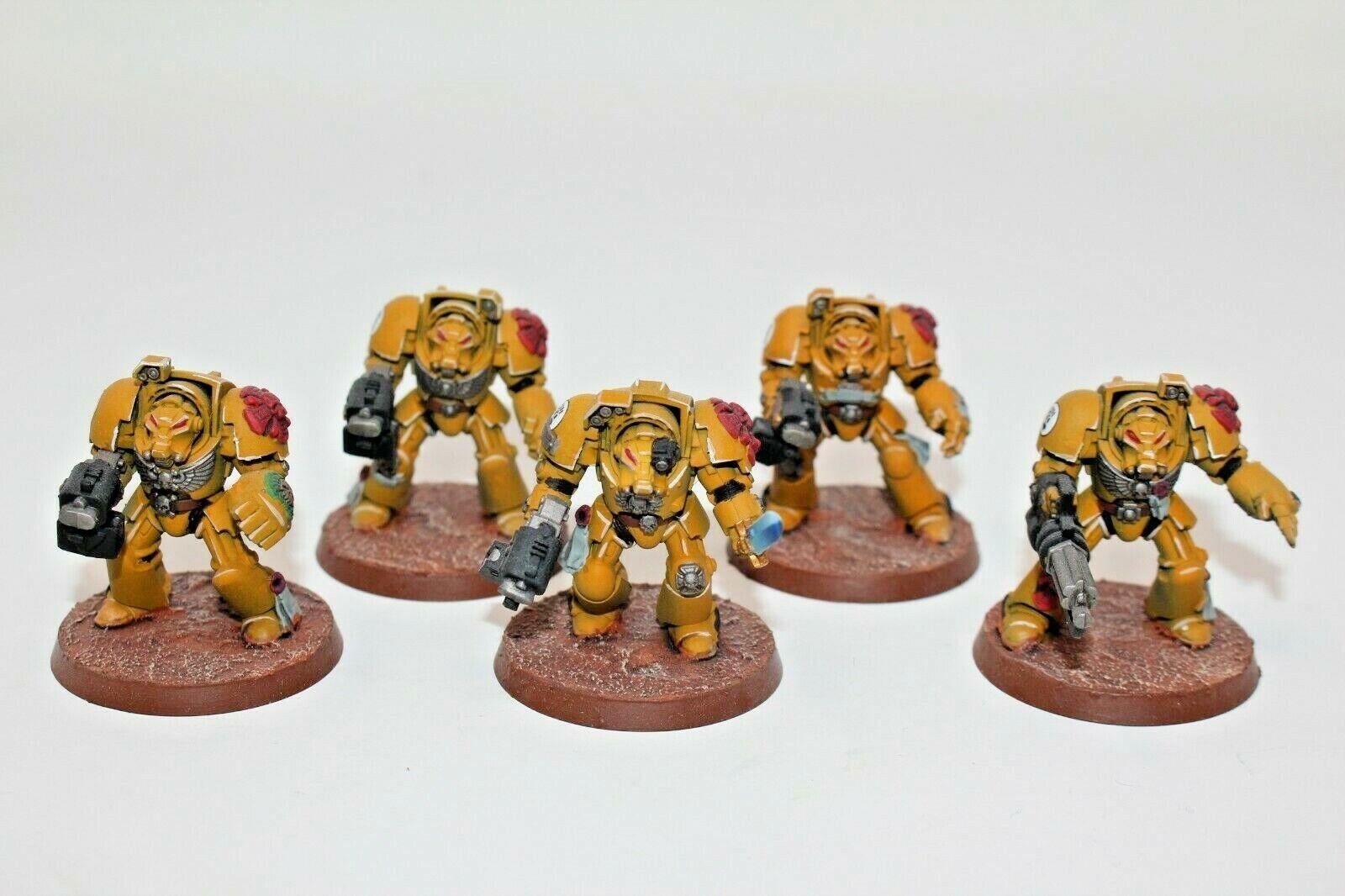 Warhammer Space Marines Terminators Well Painted - JYS79