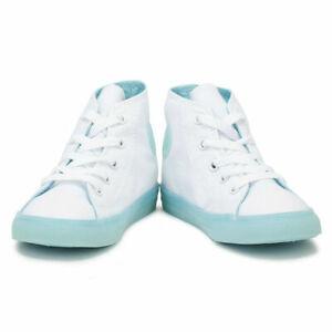 Converse All Star Toddlers White \u0026 Aqua