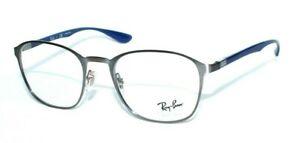 5b5e051262d Ray-Ban Eyeglasses RB 6357 2878 51.20 145 Silver Blue Plastic Metal ...