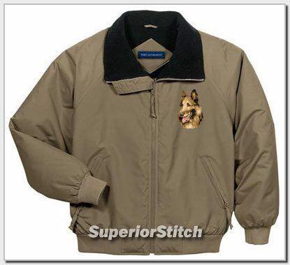 BELGIAN TERVUREN embroidered jacket ANY COLOR