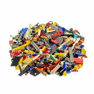 600-Teile-Lego-System-0-80-kg-Steine-Kiloware-Sonderteile-zufaellig-bunt-gemischt