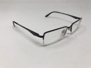 fa36730ddf7 Authentic Ray Ban Eyeglasses RB 6154 2576 54-17-140 Half Rim Black ...