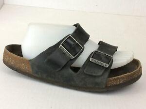 19e5b2f349bc Birkenstock Arizona EU 41 Mens 8 Med 2 Strap Slides Sandals Shoes ...