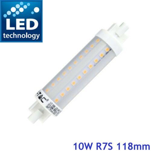 Branded R7s J118 10 W DEL Light Security Flood Remplacement Halogène Ampoule De Lampe 240 V