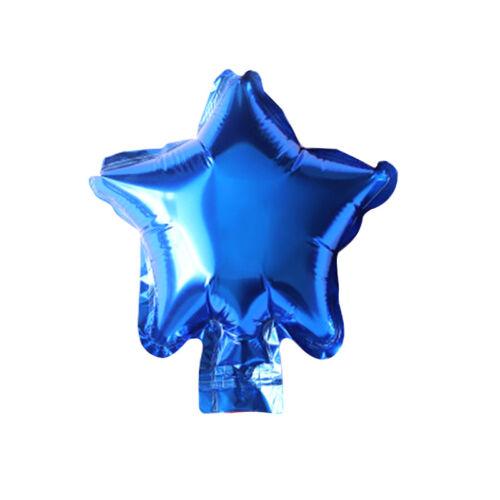 "10pcs 5 /"" Star Aluminum Foil Balloons Inflatable Birthday Balls Party Decoration"