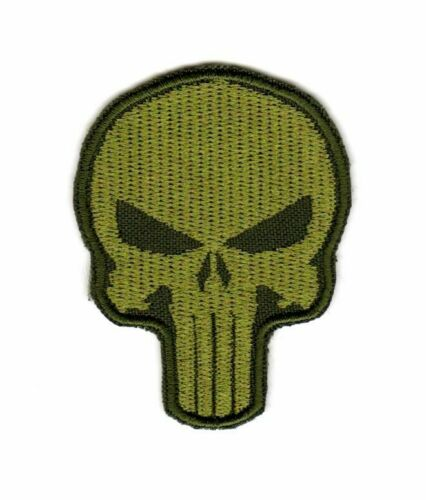 Tactical Military Army Badge Emblem Morale Patch Punisher Skull Biker Motorcycle