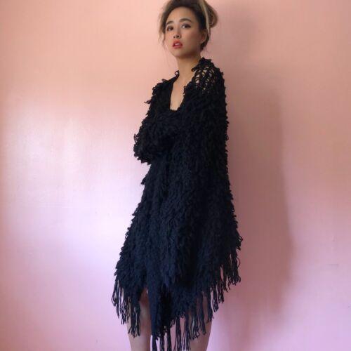 Glamorous Fringe Knit Shag Jacket