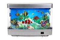 Motion Aquarium Lamp Table Aquatic Scene Ocean In Motion Fish Swim Night Light
