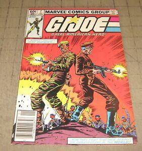GI JOE #7 (1st Print Jan 1983) FN+ Condition Comic - G.I. JOE - Kubert Cover