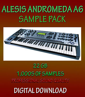 NKI ALESIS ANDROMEDA A6 SAMPLES FOR NATIVE INSTRUMENTS KONTAKT WAV  *DOWNLOAD