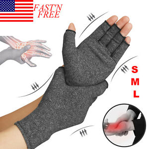 Compression-Gloves-Brace-Support-Arthritis-Relief-Carpal-Tunnel-Hand-Wrist-Pain