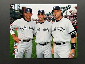 Derek Jeter Jorge Posada Alex Rodriguez 2007 ASG New York Yankees 16X20 Photo