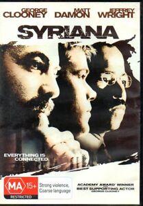 Syriana-REGION-4-DVD-FREE-POST