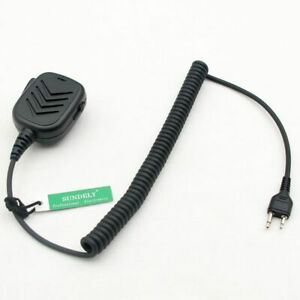 Speaker Microphone Mic for ICOM COBRA MAXON VERTEX 2-Pin Ham Radio