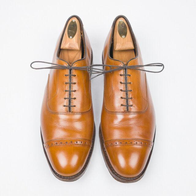 Allen Edmonds Fifth Avenue Walnut Tan Brown Calfskin Leather Dress Shoes -  10 D e42e17885cd