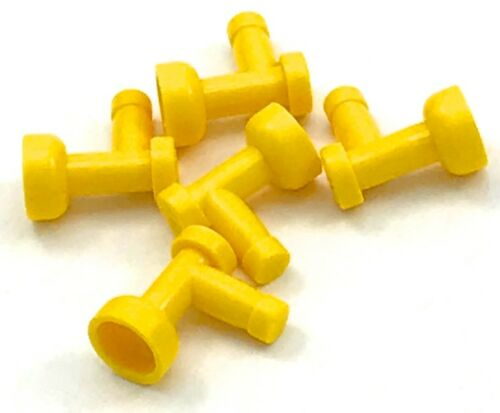 Lego 5 New Yellow Taps 1 x 1 without Hole in End Pieces