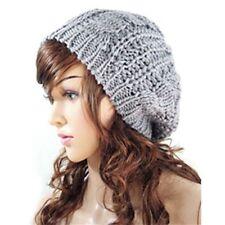 f197d7bd191 item 1 UK Women Ladies Winter Warm Cable Knit Crochet Slouch Baggy Beret  Beanie Hat Cap -UK Women Ladies Winter Warm Cable Knit Crochet Slouch Baggy  Beret ...