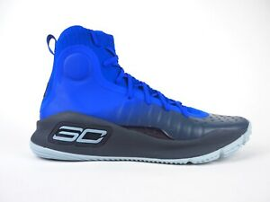 Mens Under Armour Curry 4 Blue