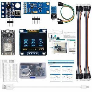 Arduino-Kit-ESP8266-Wetterstation-fuer-Arduino-IDE-IoT-Starter-Englisch-Tutorial