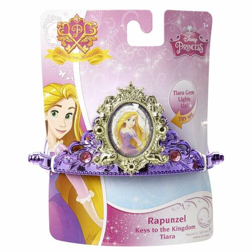 Disney Princess  Keys to the Kingdom Tiara-Ariel-Rapunzel Cinderella-Belle-Snow