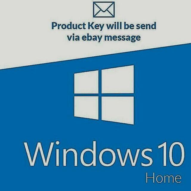 Windows 10 Home 32//64 bit License Key Activation License Genuine