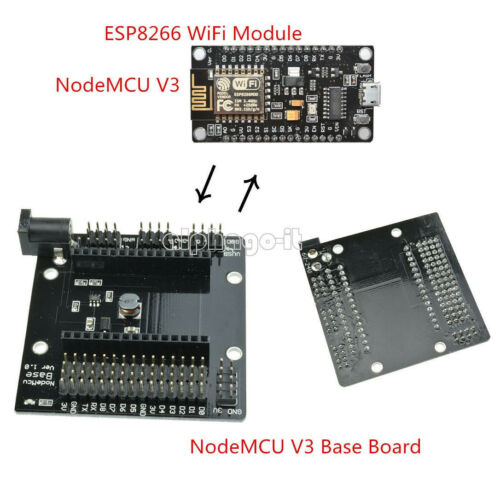 CH340G NodeMcu V3 Lua ESP8266 Development Board NodeMCU Breakout Expansion Board