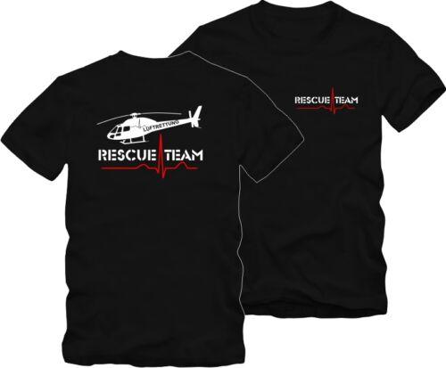 "T-shirt aéronaval sauvetage sauvetage aviateur /""dos et poitrine pression/"""