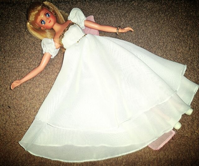 Sailor Moon Princess Serenity Dress ONLY NO DOLL OOAK Custom Deluxe 11.5 inch