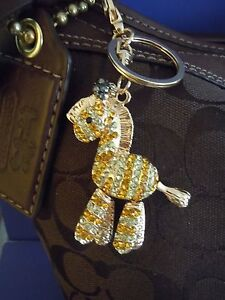 Image is loading BIGGEST-SALE-FABULOUS-BLING-ZEBRA-Rhinestone-Purse-Charm- 840996c5be