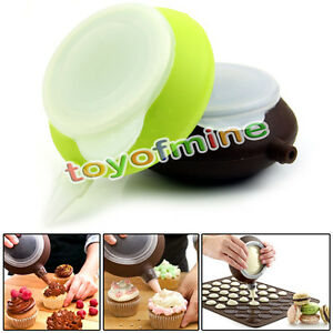 macaron silicone baking pastry decorating pen cream set muffin cake 3