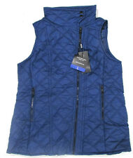 Andrew Marc NY Ladies Quilted Gilet - Size Large Blue Body Warmer Jacket BNWT