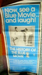 1-MOVIE-POSTER-77-X-33-CM-APPROX-HISTORY-OF-BLUE-MOVIE