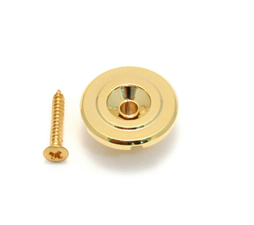 Gold Tall Style Round String Guide//Tree for Bass Guitar BSG-TR-G 1