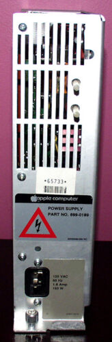 Can be set for 120 or 220V Apple Lisa 1.8 A Power Supply Tested Refurbished