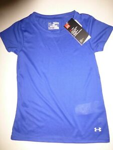Girl/'s Under Armour Heat Gear Loose Fit T-Shirt