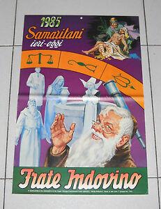 Calendario Frate Indovino Ebay.Dettagli Su Calendario Frate Indovino 1985 Perfetto Samaritani Ieri Oggi Calendar