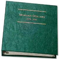 Littleton Lca8 Morgan Dollar Album Volume 1 1878-1891 Archival Quality