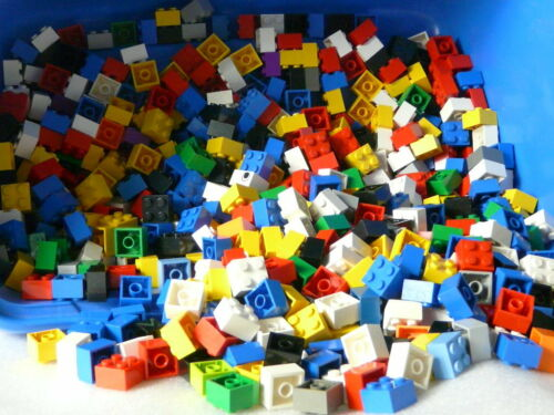 Hohe Lego Basics Bausteine Top sauberer Zustand * 70 x 2 x 2  bunt gemischt