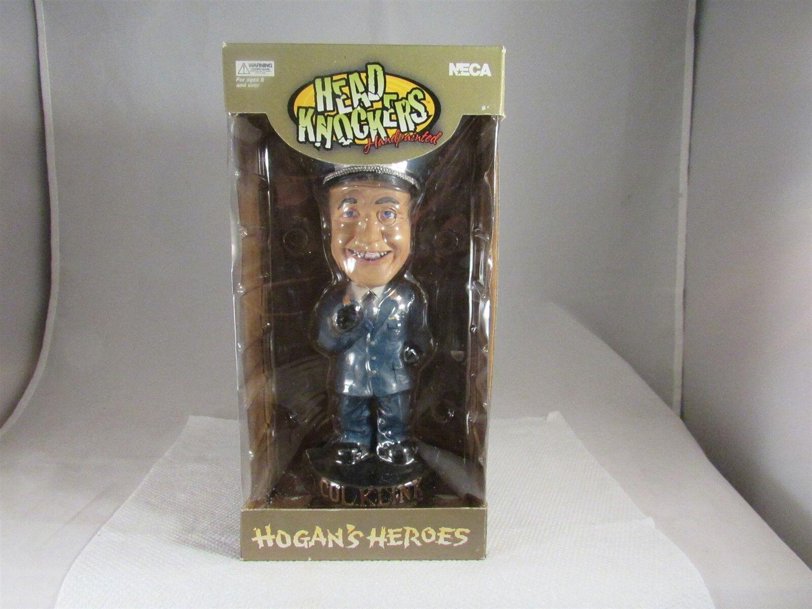 2002 Neca los héroes de Hogan cabeza aldabas Pintado a Mano Col. Klink Bobble Head 8