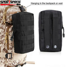 Tactical Molle Hunting Utility Tool Bag Accessory Pouch Bag For Tactical Vest BK