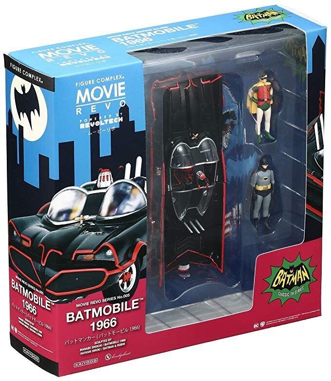 Batmobile 1966 Revoltech Kayodo Batman E Robin