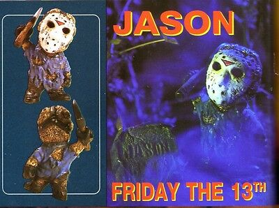 "3""SD Jason Friday The 13 th Horror Movies Resin Model Kit none scale"