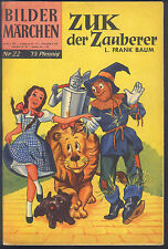 Bildermärchen Nr.22 von 1957 Zuk, der Zauberer - ORIGINAL ERSTAUFLAGE BSV COMIC
