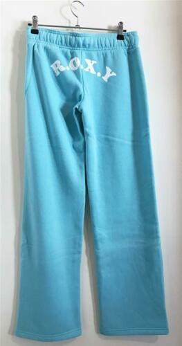 Light Blue ROXY LOVE TRACK PANT Womens Fleece Trackpant Trackies Pant New