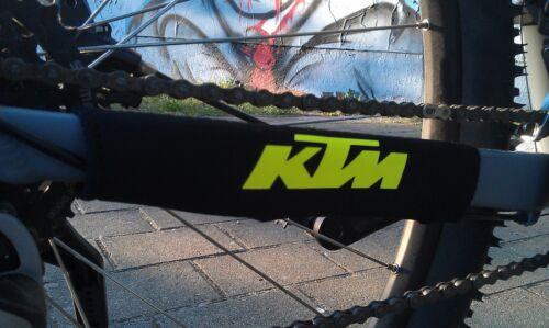 Bike Vélo KTM Fluo Jaune Chain Slapper Protection Chaînes Tailles Protection