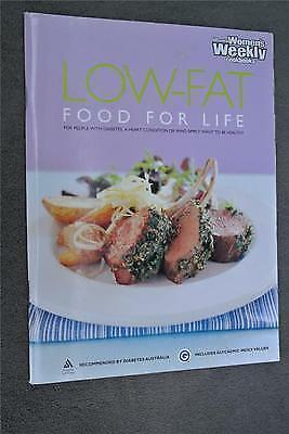 1 of 1 - WOMENS WEEKLY~Low-Fat Food for Life Cookbook~ Delicious Recipes for Diabetes.