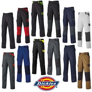 Dickies Diario Pantalones Hombre Duradero Ligero Industrial Trabajo Ed247r Ebay