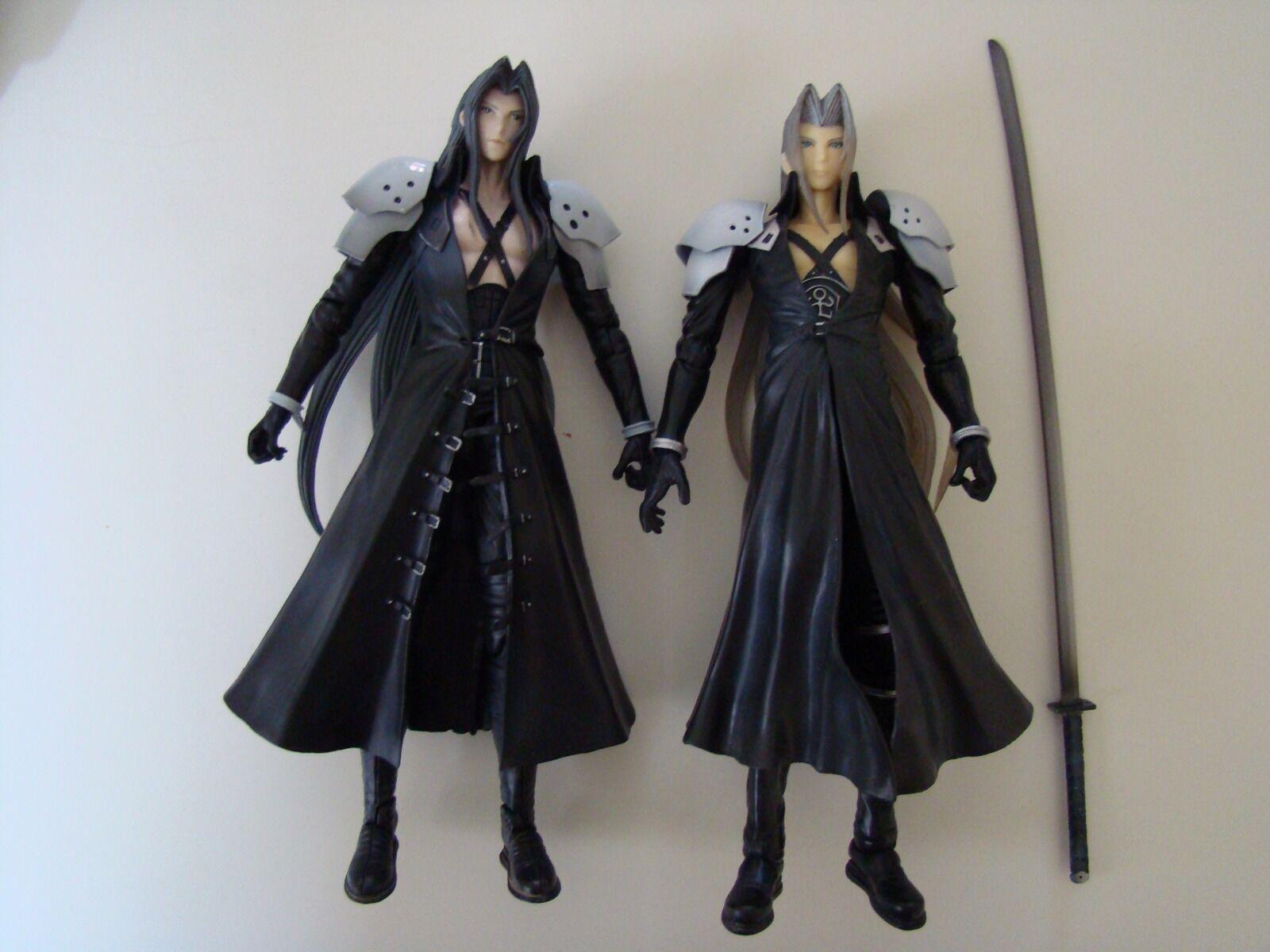 Lot Figurines Sephirossoh Final Fantasy 7 play arts RARE