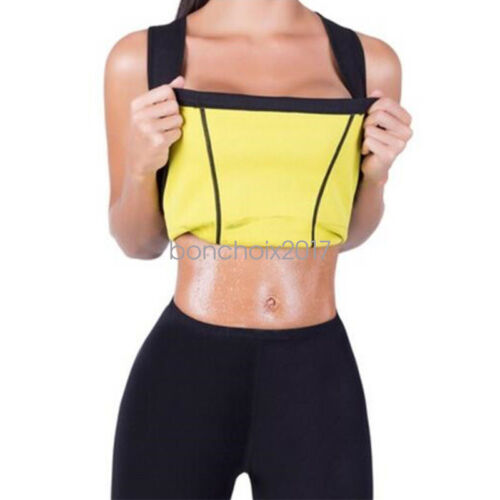 CA Sweat Sauna Body Shaper Women Slimming Vest Thermo Neoprene Waist Trainer